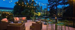 Heirloom rooftop bar